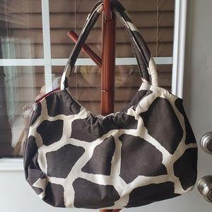 Maddy Moo Creations Cow Print Hobo Bag